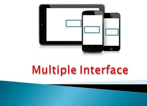 A good Mobile App has a user friendly interface.