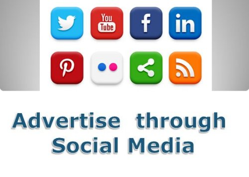 advertisements are now also part of social media marketing strategies.