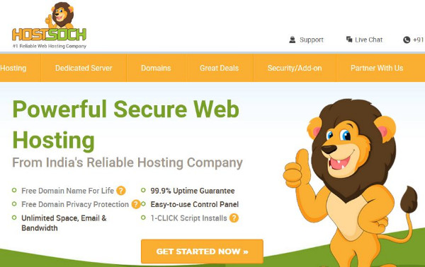 HostSoch Web Hosting Services is apopular hostingservice globally.