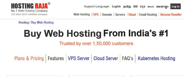 An Indian Web Hosting Company
