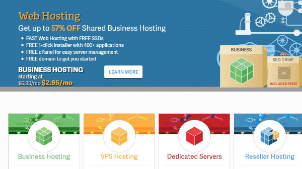 InMotion Hosting Service Provider is a fast hosting solution for business needs.