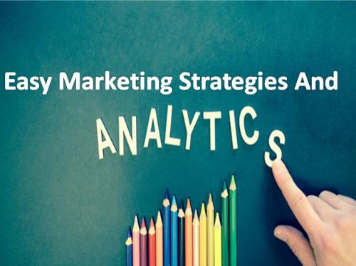 Easy analytics of ecommerce strategies