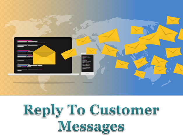 Engage with customers through messages.