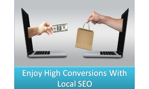 Enjoy High Conversions With Local SEO.