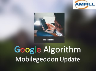 Mobilegeddon update lets mobile friendly websites rank high then web pages which are not mobile friendly.